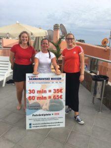 Njut och återhämta dig på semestern genom skön massage på Gran Canaria. Låt oss på Den Skandinaviske Massör även bli en del av din semester.